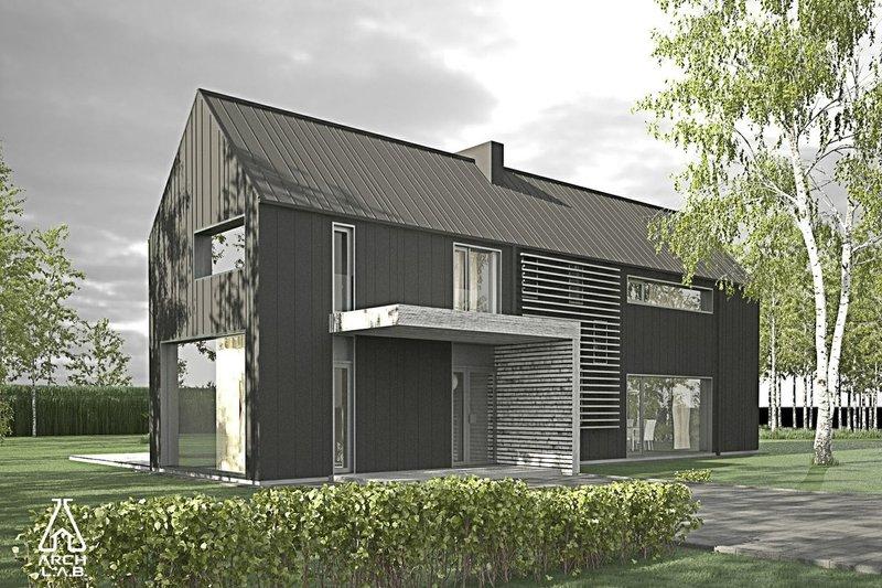 Dream House Plan - Modern Barn Plans