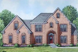 Traditional Exterior - Front Elevation Plan #424-49