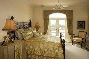 Mediterranean Style House Plan - 5 Beds 5.5 Baths 6780 Sq/Ft Plan #27-216 Interior - Bedroom