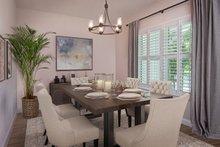 Contemporary Interior - Dining Room Plan #938-92