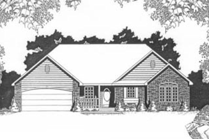 Traditional Exterior - Front Elevation Plan #58-131