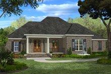 Dream House Plan - European Exterior - Front Elevation Plan #430-48
