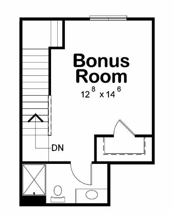 Traditional Floor Plan - Other Floor Plan Plan #20-2186