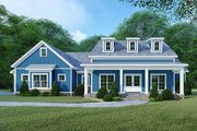 Country Style House Plan - 4 Beds 3 Baths 2220 Sq/Ft Plan #923-122 Exterior - Front Elevation