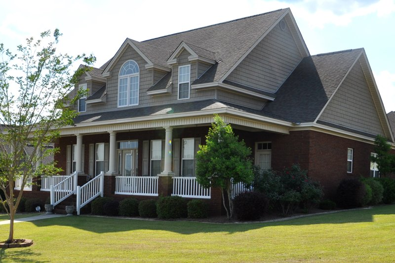 Dream House Plan - Traditional Exterior - Other Elevation Plan #63-274