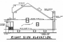 Home Plan - Craftsman Exterior - Other Elevation Plan #20-2236