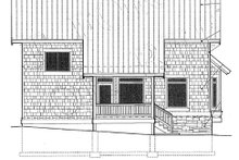 Dream House Plan - Traditional Exterior - Other Elevation Plan #48-302