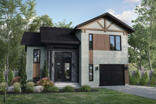House Plan Design - Cottage Exterior - Rear Elevation Plan #25-4929