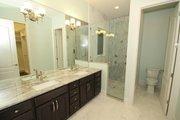 Mediterranean Style House Plan - 4 Beds 4 Baths 2693 Sq/Ft Plan #1058-147 Interior - Master Bathroom