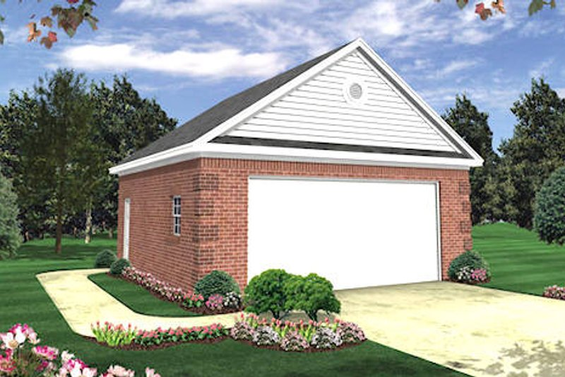 Home Plan - Traditional Exterior - Front Elevation Plan #21-224