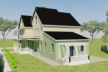 Architectural House Design - Right Front