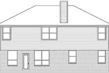 Dream House Plan - European Exterior - Rear Elevation Plan #84-235