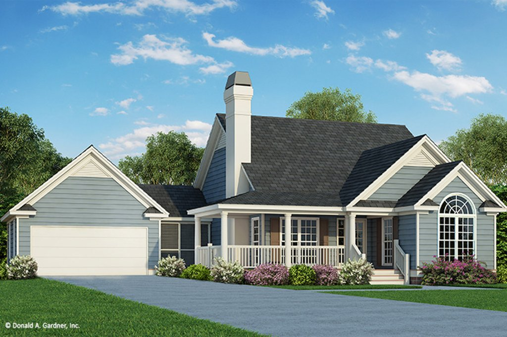 1246 Square Feet 3 Bedroom 2 Bathroom 2 Garage Country 45355 on Tudor Style House Plan 5 Beds 6 Baths