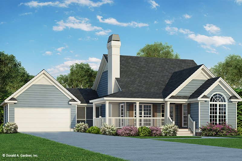 House Plan Design - Country Exterior - Front Elevation Plan #929-47