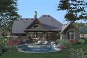 Craftsman Style House Plan - 3 Beds 2.5 Baths 2106 Sq/Ft Plan #120-175 Exterior - Rear Elevation