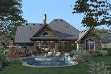 Craftsman Exterior - Rear Elevation Plan #120-175