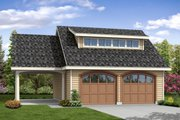 Craftsman Style House Plan - 0 Beds 0 Baths 1068 Sq/Ft Plan #124-1050 Exterior - Front Elevation