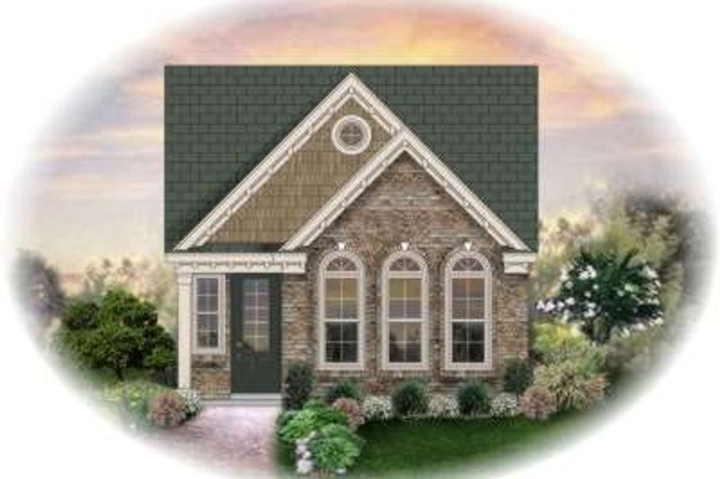 Country Style House Plan - 3 Beds 2 Baths 1360 Sq/Ft Plan #81-1398
