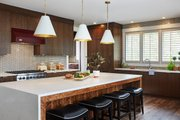Country Style House Plan - 4 Beds 4 Baths 3785 Sq/Ft Plan #928-322 Interior - Kitchen