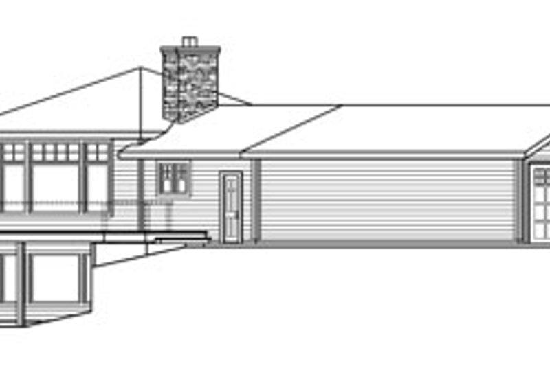 Craftsman Exterior - Other Elevation Plan #124-730 - Houseplans.com