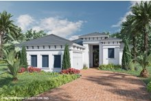 Architectural House Design - Contemporary Exterior - Front Elevation Plan #930-523