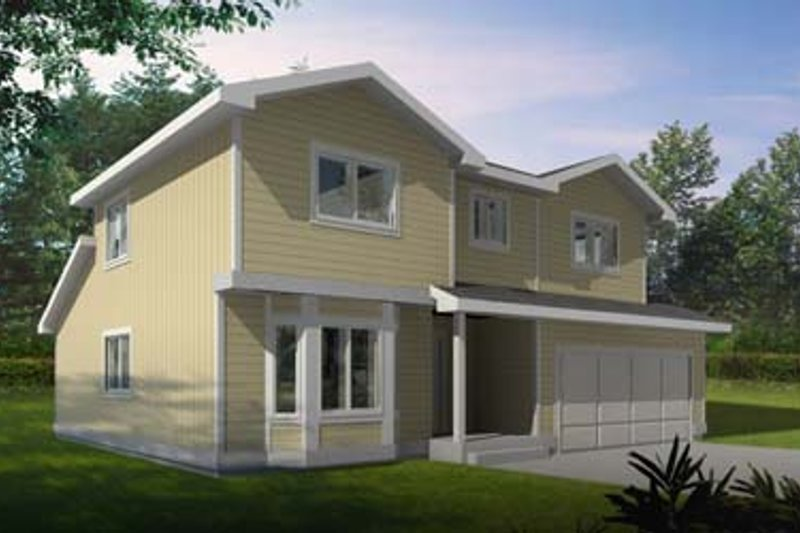 Traditional Exterior - Front Elevation Plan #95-229 - Houseplans.com