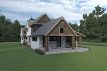 House Plan Design - Farmhouse Exterior - Other Elevation Plan #1070-106