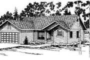 House Plan - 3 Beds 2 Baths 1293 Sq/Ft Plan #124-156