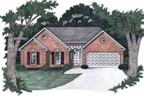 Traditional Exterior - Front Elevation Plan #129-139