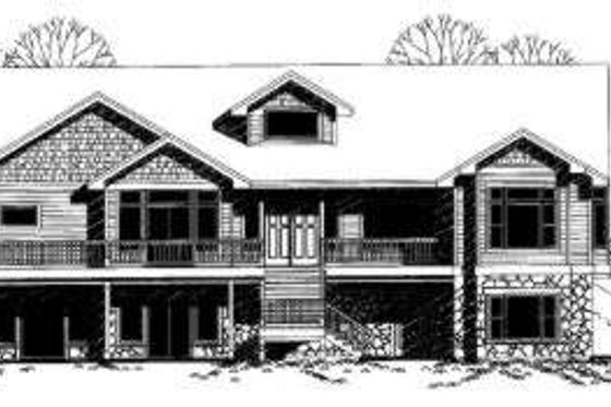 Traditional Exterior - Front Elevation Plan #303-332