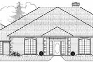Traditional Exterior - Front Elevation Plan #65-141