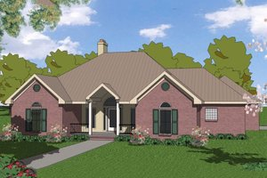 1800 square foot traditional home