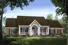 Home Plan - Country Exterior - Front Elevation Plan #21-299