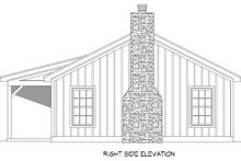 Country Exterior - Other Elevation Plan #932-96
