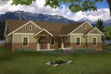 Architectural House Design - Craftsman Exterior - Front Elevation Plan #932-174