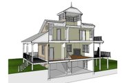 Southern Style House Plan - 2 Beds 2 Baths 1840 Sq/Ft Plan #481-12 Interior - Other