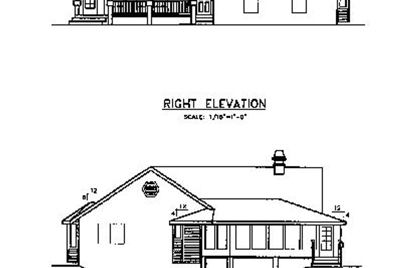 Country Exterior - Other Elevation Plan #60-618 - Houseplans.com