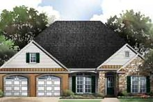 Dream House Plan - Traditional Exterior - Front Elevation Plan #21-179
