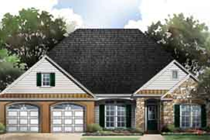 Traditional Exterior - Front Elevation Plan #21-179 - Houseplans.com