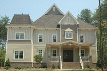 Home Plan - Victorian Exterior - Front Elevation Plan #413-142