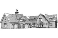 Traditional Exterior - Front Elevation Plan #901-137