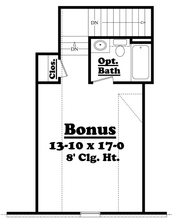 European Floor Plan - Other Floor Plan Plan #430-43