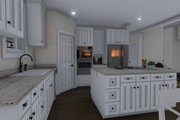 Ranch Style House Plan - 6 Beds 3.5 Baths 3287 Sq/Ft Plan #1060-11 Interior - Kitchen