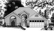European Style House Plan - 3 Beds 2 Baths 1886 Sq/Ft Plan #62-107