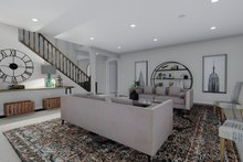 Dream House Plan - Mediterranean Interior - Family Room Plan #1060-29