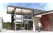 Modern Style House Plan - 2 Beds 3 Baths 1811 Sq/Ft Plan #498-2