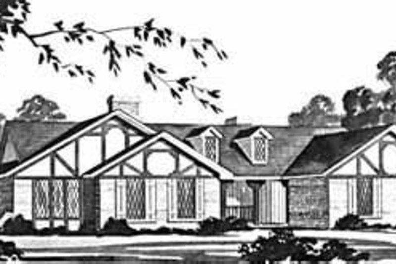 Dream House Plan - European Exterior - Front Elevation Plan #36-390