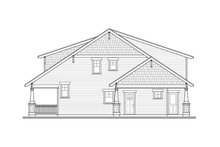 Dream House Plan - Craftsman Exterior - Other Elevation Plan #124-844