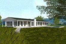 Ranch Exterior - Rear Elevation Plan #888-6