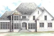 European Style House Plan - 4 Beds 2.5 Baths 2491 Sq/Ft Plan #119-114 Photo